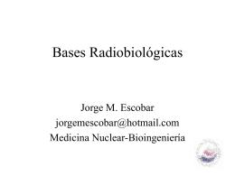 Unidad 11: Radiobiología