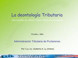 Deontología tributaria
