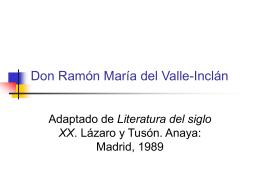 Don Ramón María del Valle