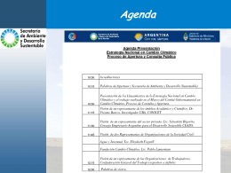 Presentación del 4-03-11 - Secretaría de Ambiente y Desarrollo