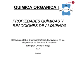 PPT QOI reacciones seccion C 2013 ALQUENOS