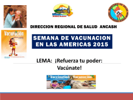 Taller LRS 2015, Huaraz – Semana de