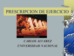 MAES.PRESCRIP - Universidad Nacional