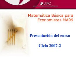 Clase 1-0 (Presentación del curso)