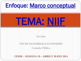 2014 CONFERENCIA DEFINITIVA NIIF MARCO