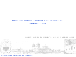 Consumo de alimentos - Universidad Católica de Córdoba