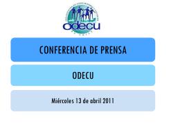 Odecu: Estudio de Precios de Semana Santa