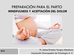 Preparación para el Parto Mindfulness y Aceptación