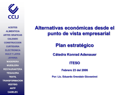 Alternativas economicas punto de vista empresarial