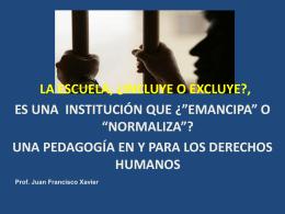 Educación en y para los derechos humanos