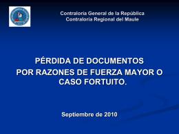 Capacitacion documentos