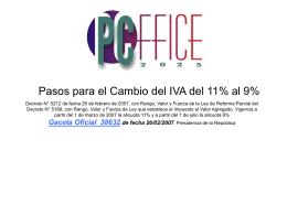 CambioIVA - premiumsoft.com.ve
