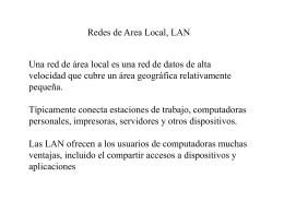 Redes LAN.
