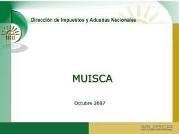 Presentación mesa redonda Plan MUISCA balance y perspectivas