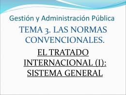 el tratado internacional