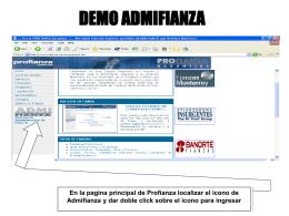 para ver una demostración en PowerPoint del sistema.