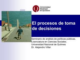 Sin título de diapositiva - Universidad Nacional de Quilmes