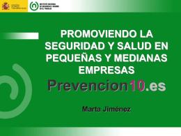 Marta Jimenez - Trabajo Seguro Chile
