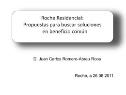 Conferencia Roche 26.08.2011