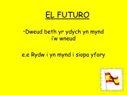Y dyfodol