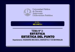 tema_03_estatica_del_punto - Ingeniería Mecánica Aplicada y