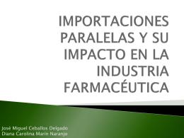 Importacionesfarmacutica - Universidad Externado de Colombia