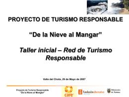 Taller 1 Turismo Responsable