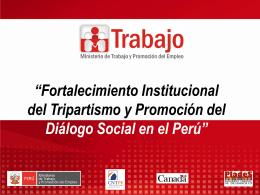 1ra Diapositiva. - Dirección Regional de Trabajo y Promoción del