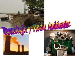 tecnologia y medio ambiente - Colegio Salesiano El Sufragio