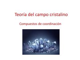 Teoría del campo cristalino - U