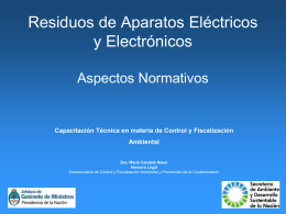 Dra. María Candela Massi - Secretaría de Ambiente y Desarrollo