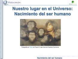 Nacimiento del ser humano