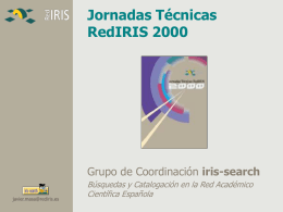 PPT - RedIRIS