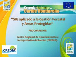 SIG Procorredor - Agenda Forestal Hondureña