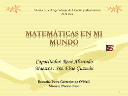 Matematicas en mi mundo