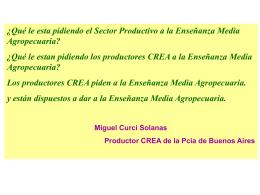 Miguel Curci - AACREA
