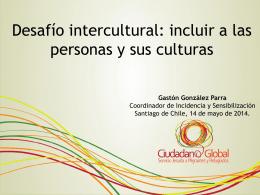 Presentación de Gastón González