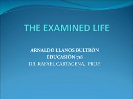 TheExaminedIILive-ARNALDOLLANOS