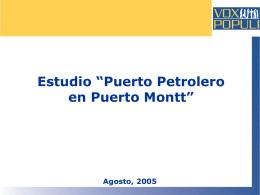 Cesar o prorrogar actividades del Puerto Petrolero?