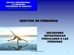 GESTIÓN DE PERSONAS