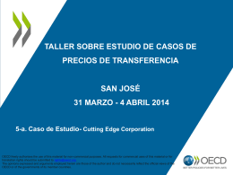 Caso de Estudio - Cutting Edge Corporation