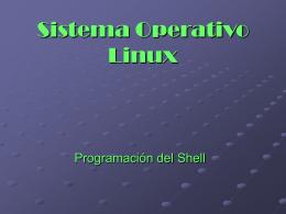 Comandos Shell - A/P. Prof. Ignacio Lasalvia