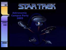PresentaciónStarTrekCampus
