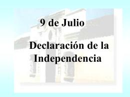 9 de Julio - Universidad Nacional de La Plata