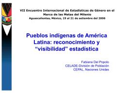 Pueblos indígenas de América latina: reconocimiento y
