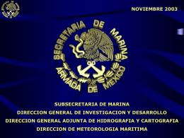 organizacion red meteorologica maritima red meteorologica