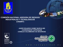 comisión nacional asesora de riesgos industriales y tecnológicos
