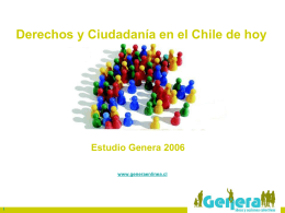 su texto - Capítulo Chileno del Ombudsman