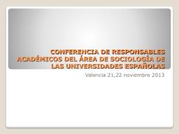 Propuesta sobre el Índice de Integración Social. Presentado