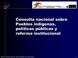 3 - Comisión Nacional para el Desarrollo de los Pueblos Indígenas